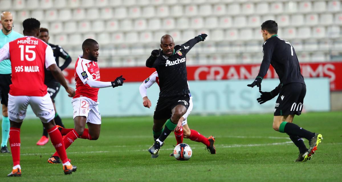 Résultat Ligue 1 : le RC Lens doublement refroidi à Reims (0-1, mi-temps)