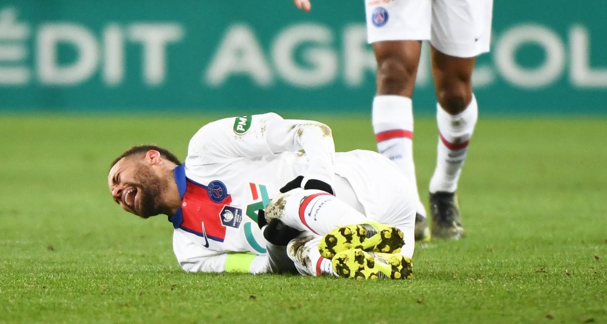 PSG: Pochettino dédouané de la dernière blessure de Neymar