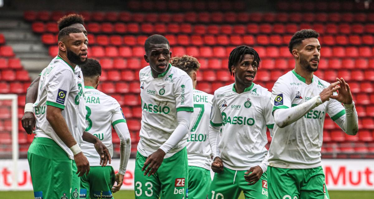 Résultats Ligue 1 : l'ASSE se relance aux dépens du Stade Rennais, première victorieuse pour Kombouaré avec le FC Nantes (terminé)