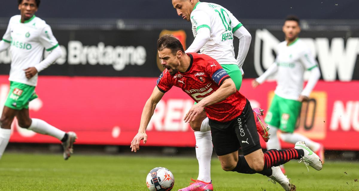 Stade Rennais – ASSE (0-2): les Rennais se sont sentis «faibles» face aux Verts