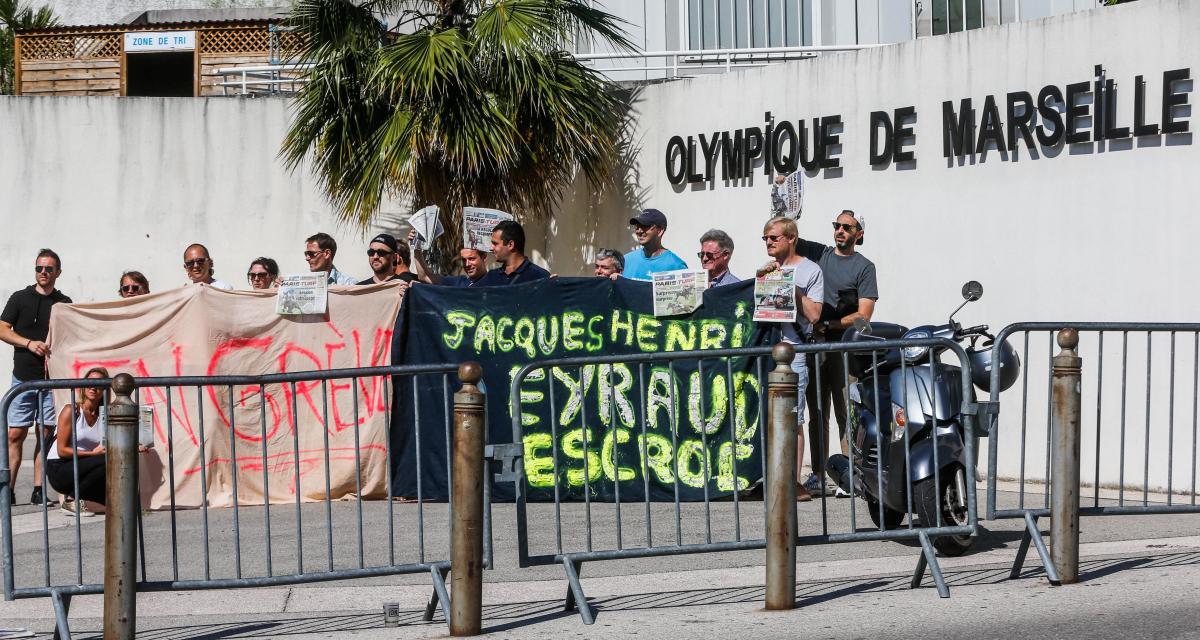 OM : une pétition en ligne contre Eyraud affole les compteurs