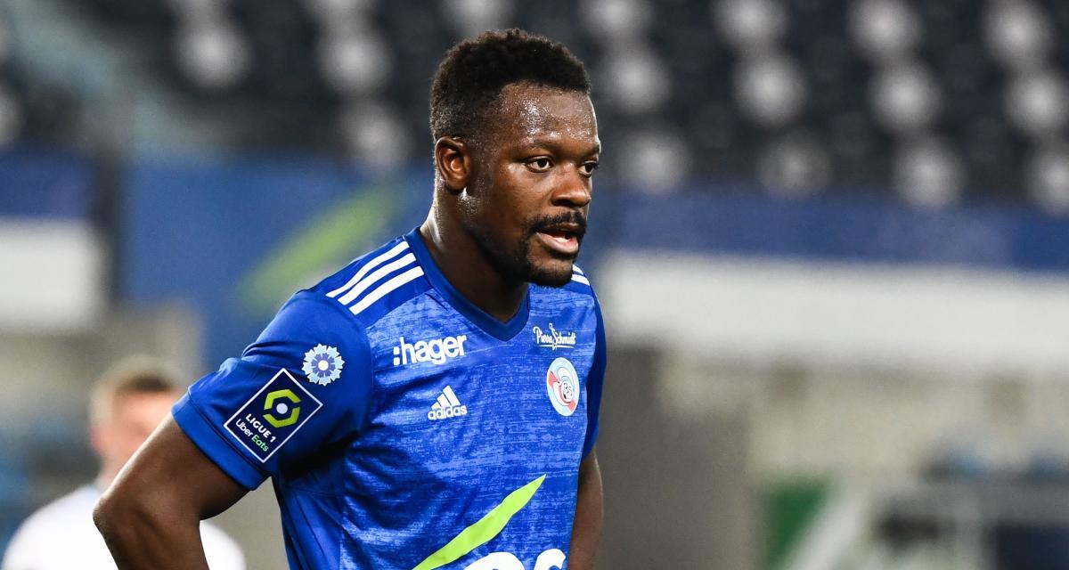 RC Strasbourg : Lamine Koné meilleur joueur de L1 dans une catégorie très recherchée