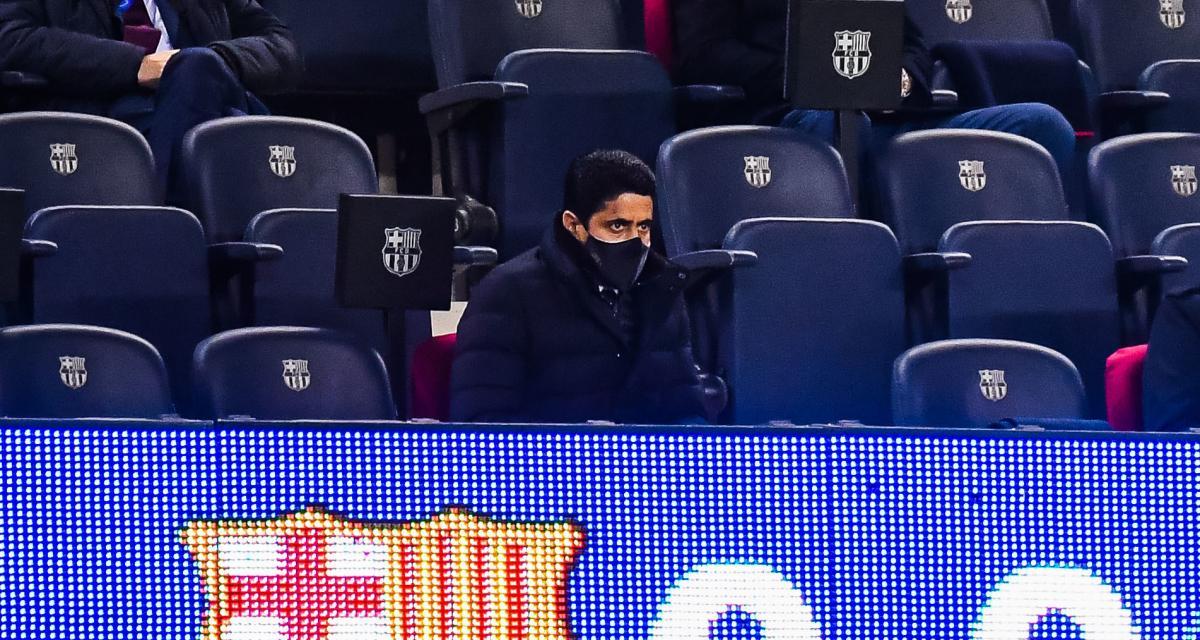PSG : en plus de Mbappé, al-Khelaïfi aurait aussi dégoupillé au Camp Nou