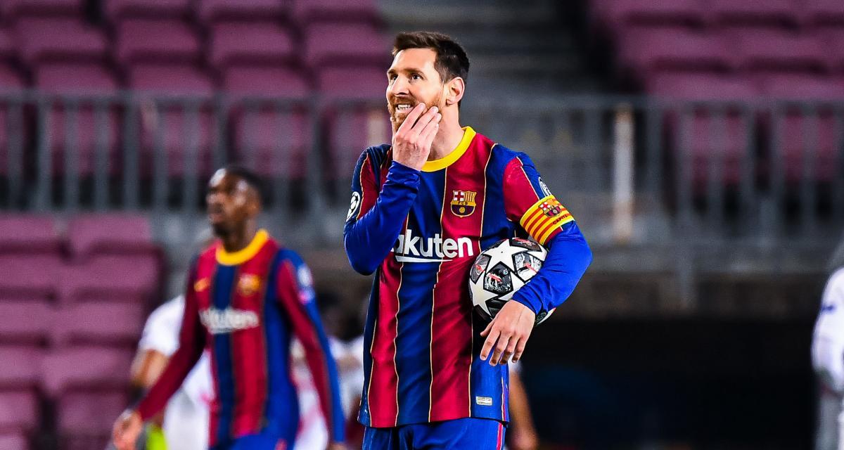 FC Barcelone – PSG (1-4) : Messi a déprimé tout le vestiaire du Barça après la déroute