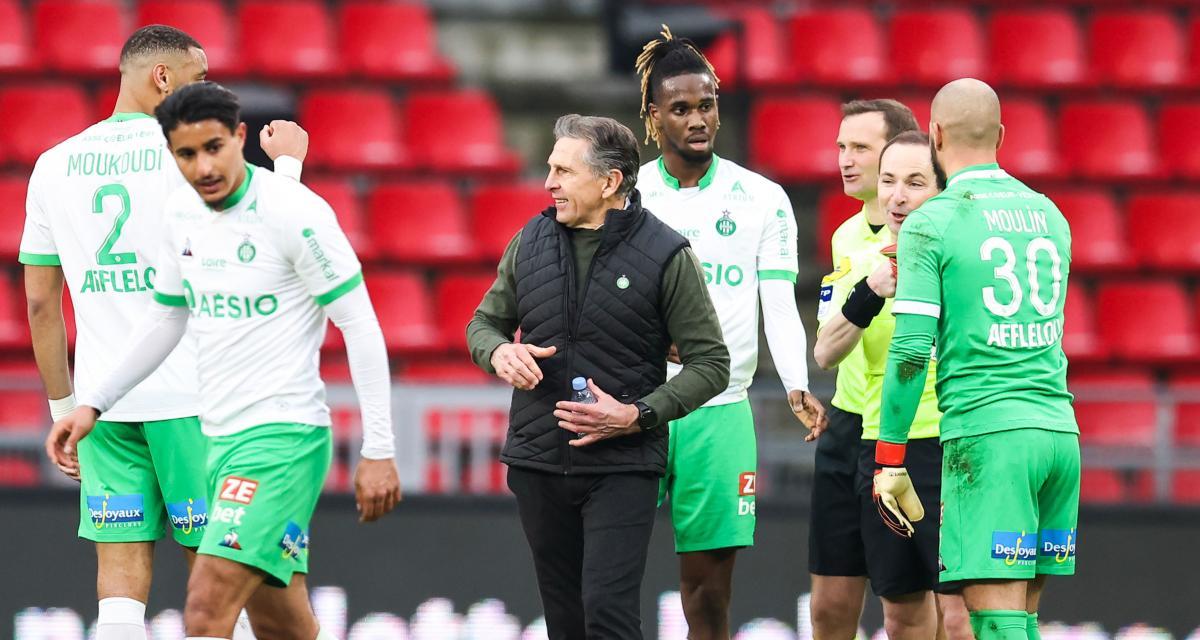 ASSE : Claude Puel s'est fixé un nouvel objectif après la défaite à Sochaux
