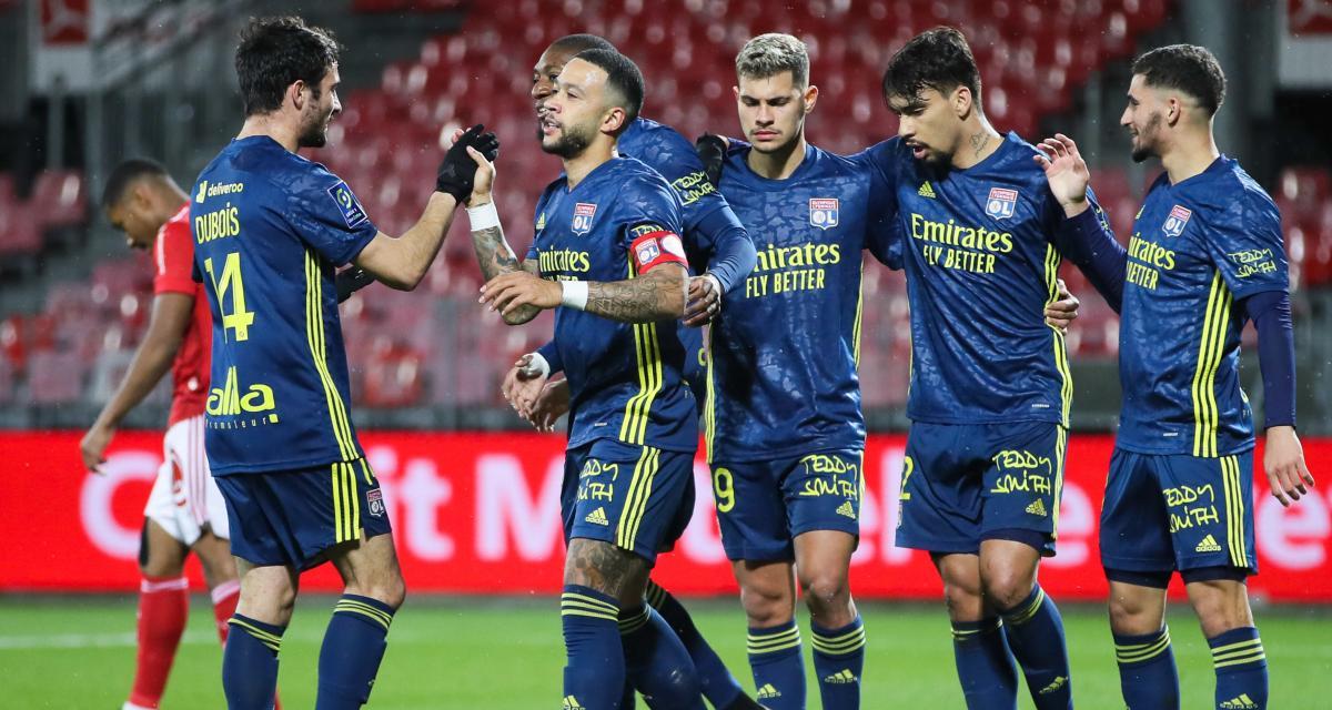 Stade Brestois – OL (2-3) : Lyon s'impose à Brest en tremblant et reprend la tête de la L1