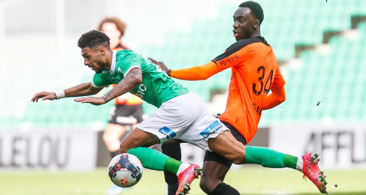 ASSE – Stade de Reims (1-1) : Abi sauve un point, Bouanga en perd deux... les notes des Verts