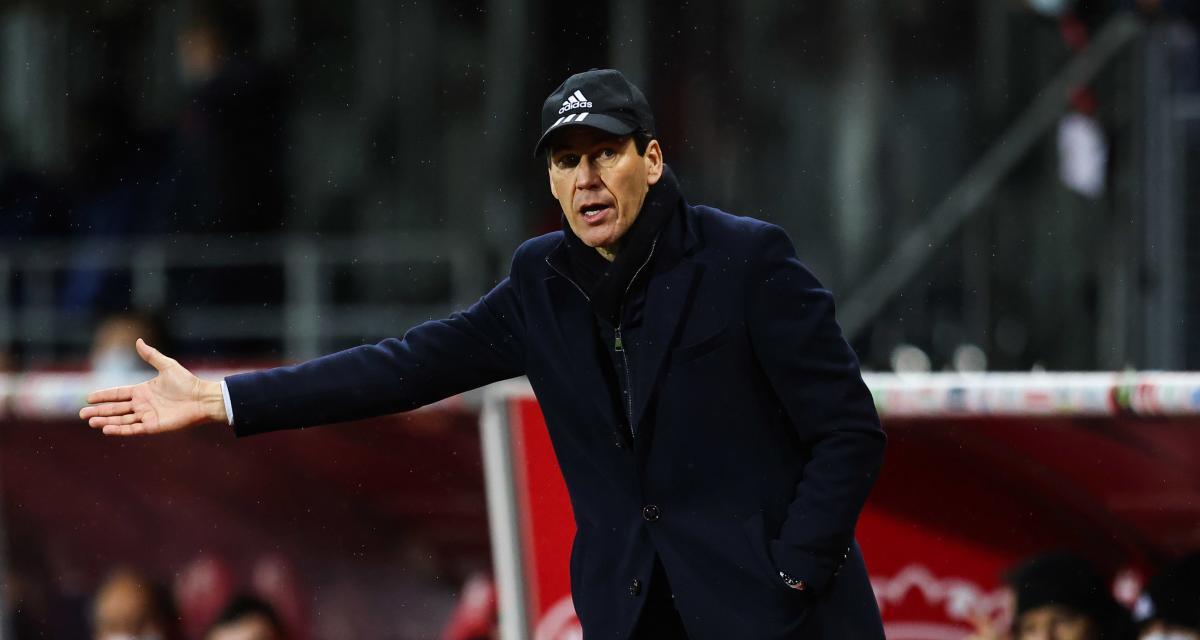 OL : Rudi Garcia a ramené une grosse inquiétude de Brest