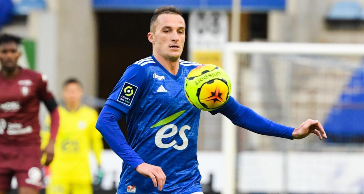 RC Strasbourg : un héros de la Meinau va atteindre un cap symbolique contre le SCO