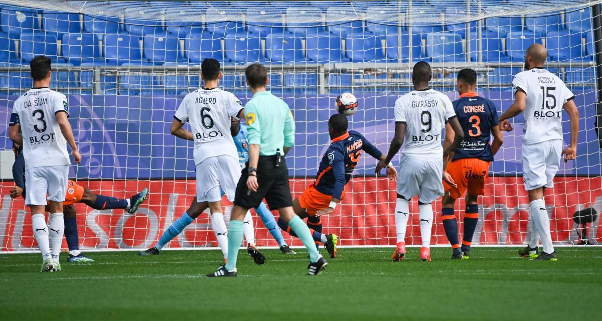 Résultat Ligue 1 : Montpellier HSC 2-0 Stade Rennais (mi-temps)