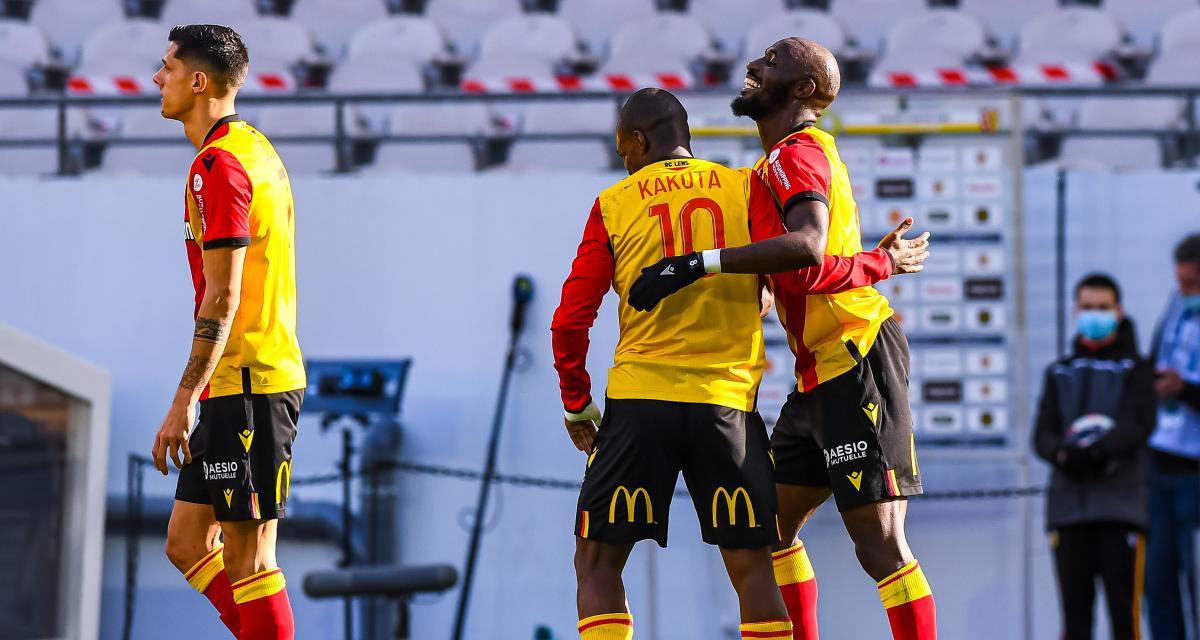 Résultats Ligue 1 : le RC Lens bien lancé, les Girondins dans le dur (mi-temps)
