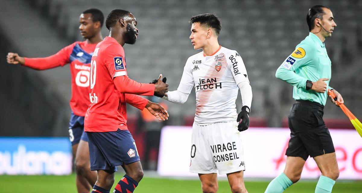 Lorient FC - LOSC : les compos sont là (Sanches sur le banc)