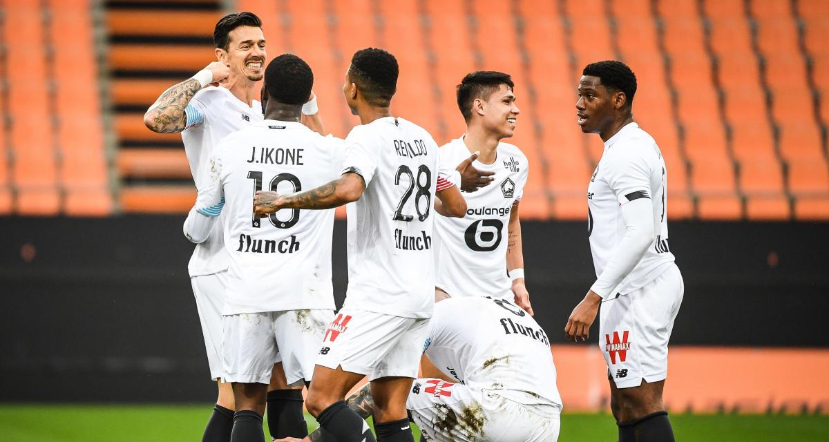 Résultat Ligue 1: Lorient FC 1 – 4 LOSC