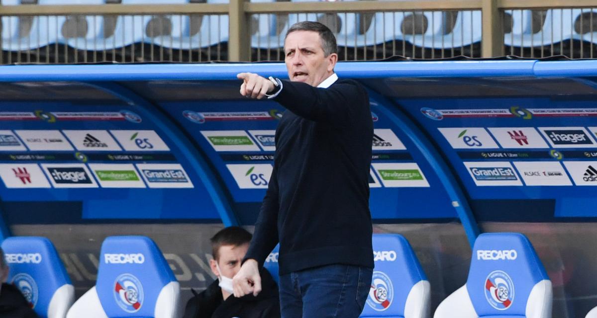 RC Strasbourg – Angers (0-0) : Laurey explique les difficultés offensives et remercie les supporters