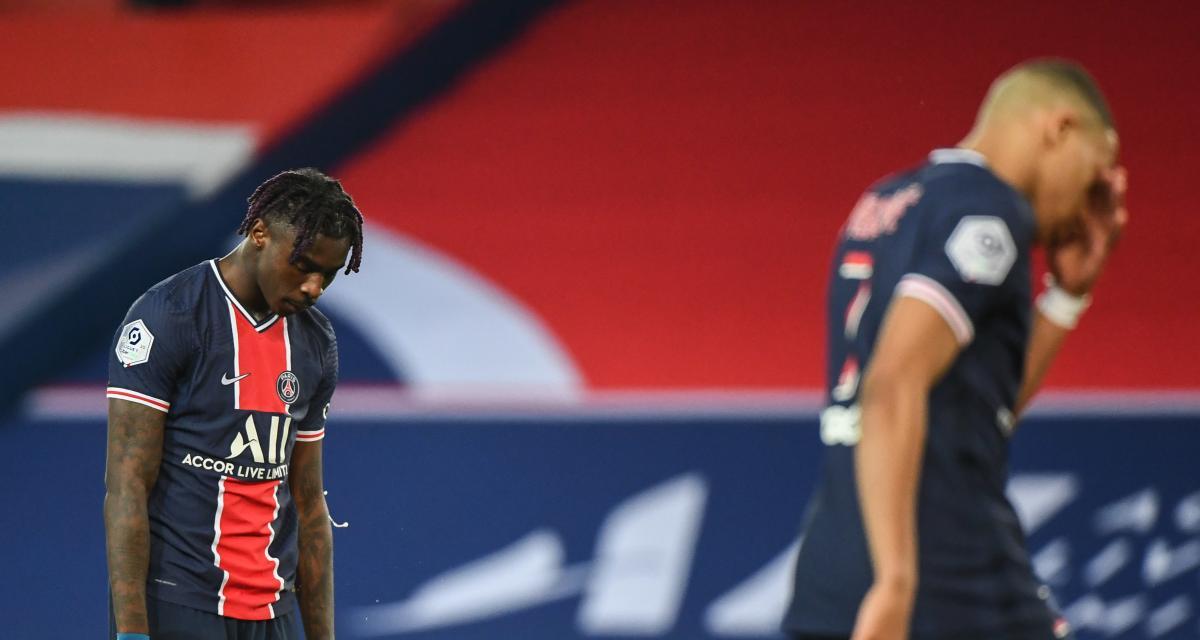 PSG – AS Monaco(0-2) : les Parisiens à la ramasse face aux «gros»