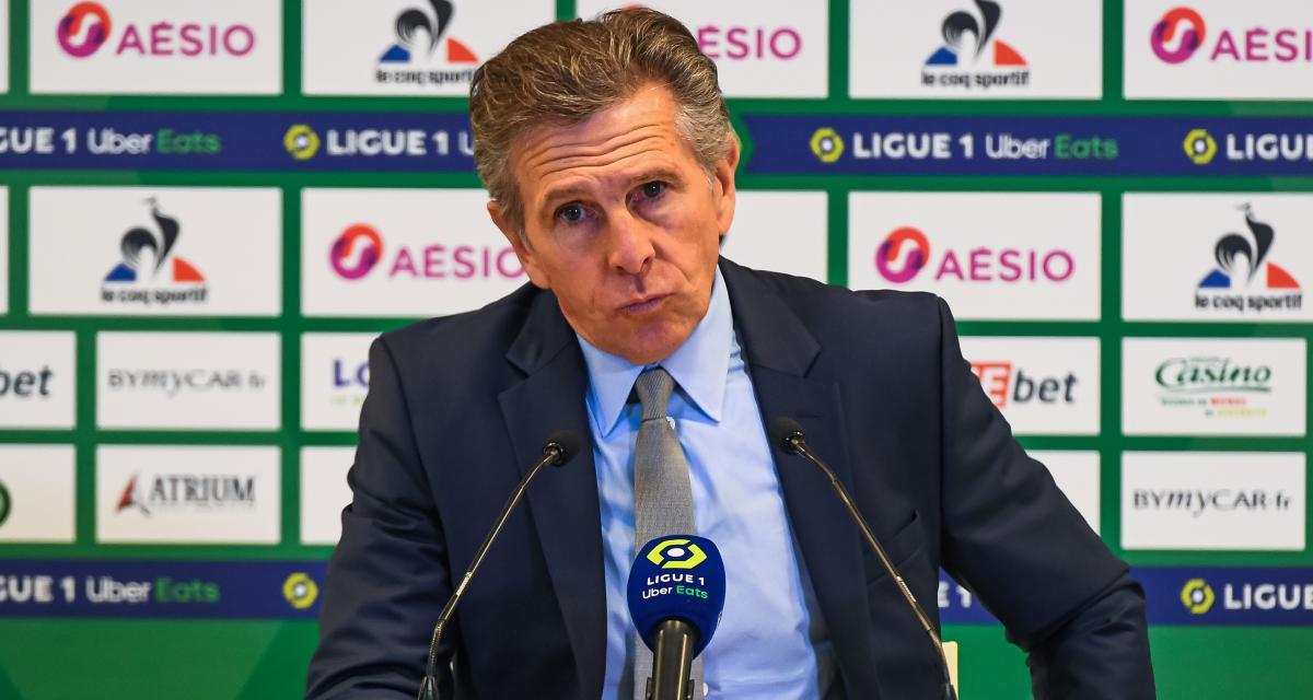 ASSE : Claude Puel a testé un nouvel attaquant prometteur