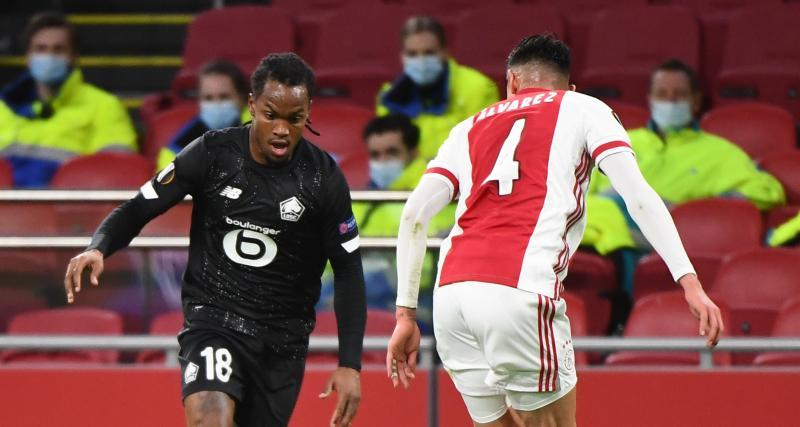 Résultat Europa League : Ajax Amsterdam 1-0 LOSC (mi-temps)