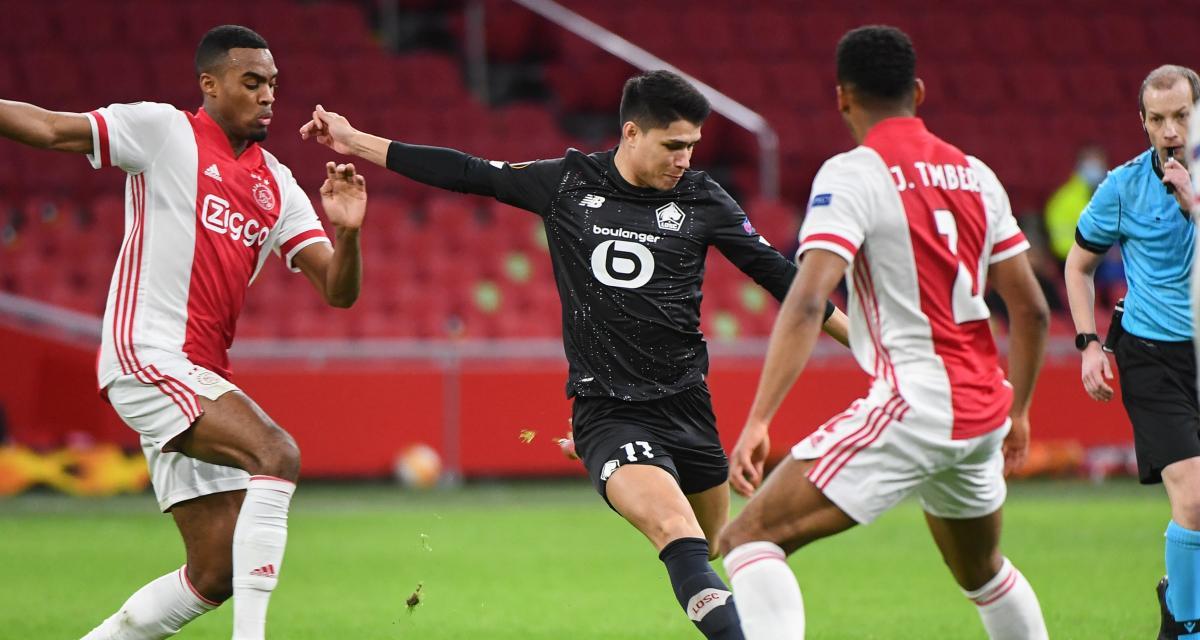 Résultat Europa League : le LOSC éliminé par l'Ajax Amsterdam (terminé)