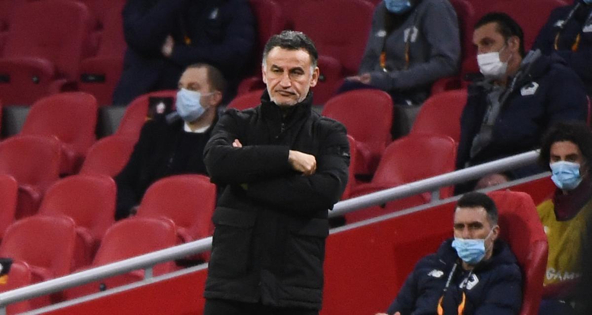 Ajax - LOSC (2-1) : Christophe Galtier n'a qu'un regret après l'élimination