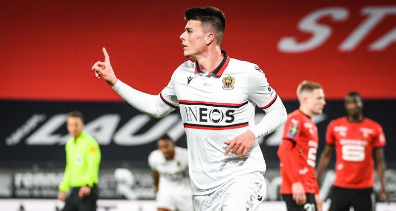 Résultat Ligue 1: Rennes craque encore à la maison face à Nice (1-2)