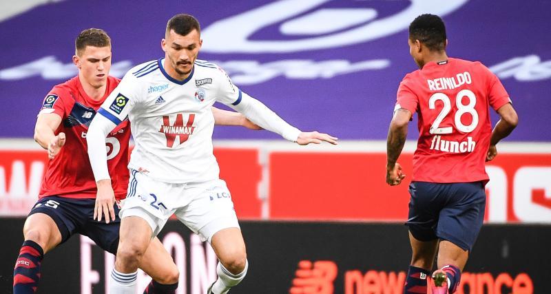 Résultat Ligue 1 : le LOSC est mené à la pause par le RC Strasbourg (0-1)