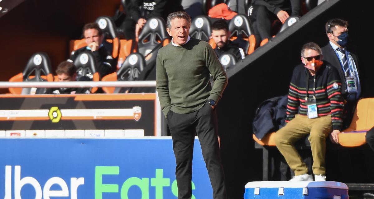 Lorient – ASSE (2-1): frustré du match, Puel se justifie pour le sale coup à Moueffek
