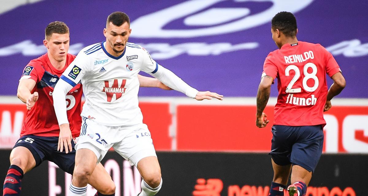 Résultat Ligue 1 : le LOSC revient de loin et accroche le nul face au RC Strasbourg (1-1)