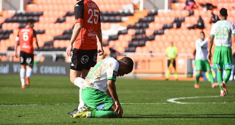 ASSE: l'une des dernières séries positives de Puel s'est brisée à Lorient (1-2)