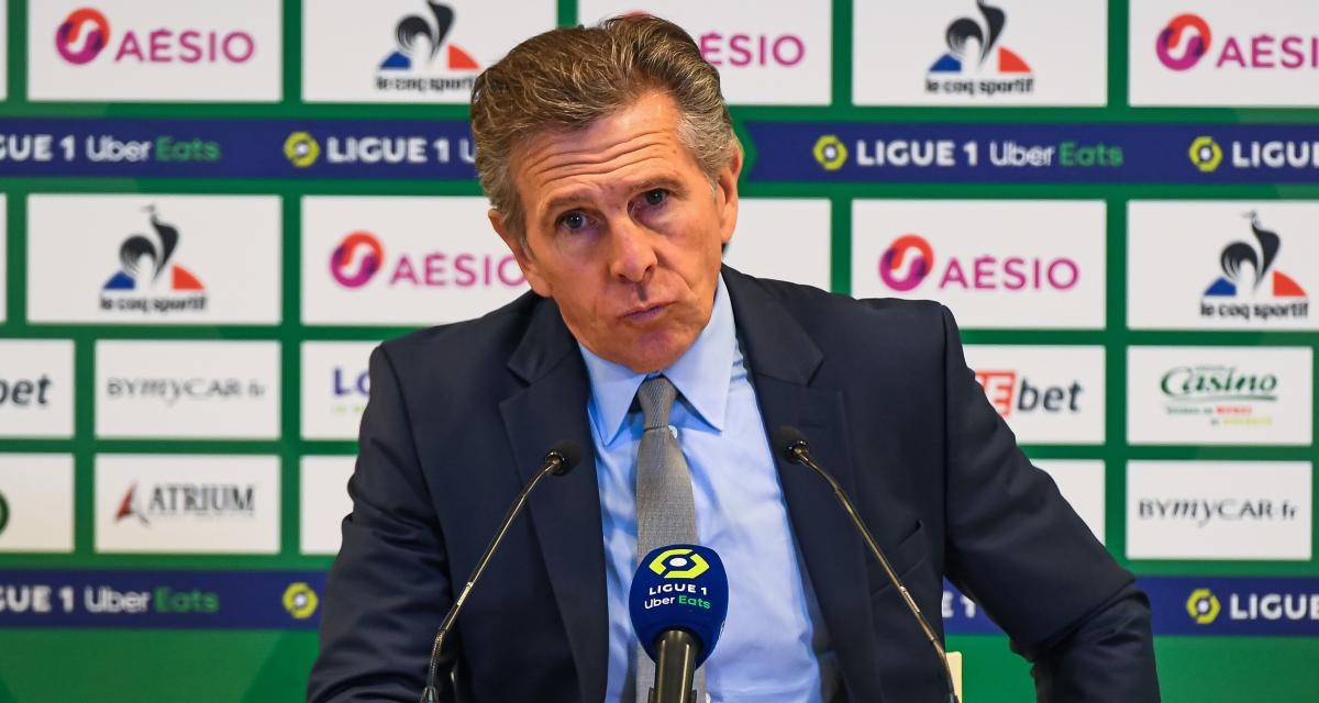ASSE : Puel reçoit une triste nouvelle face au RC Lens
