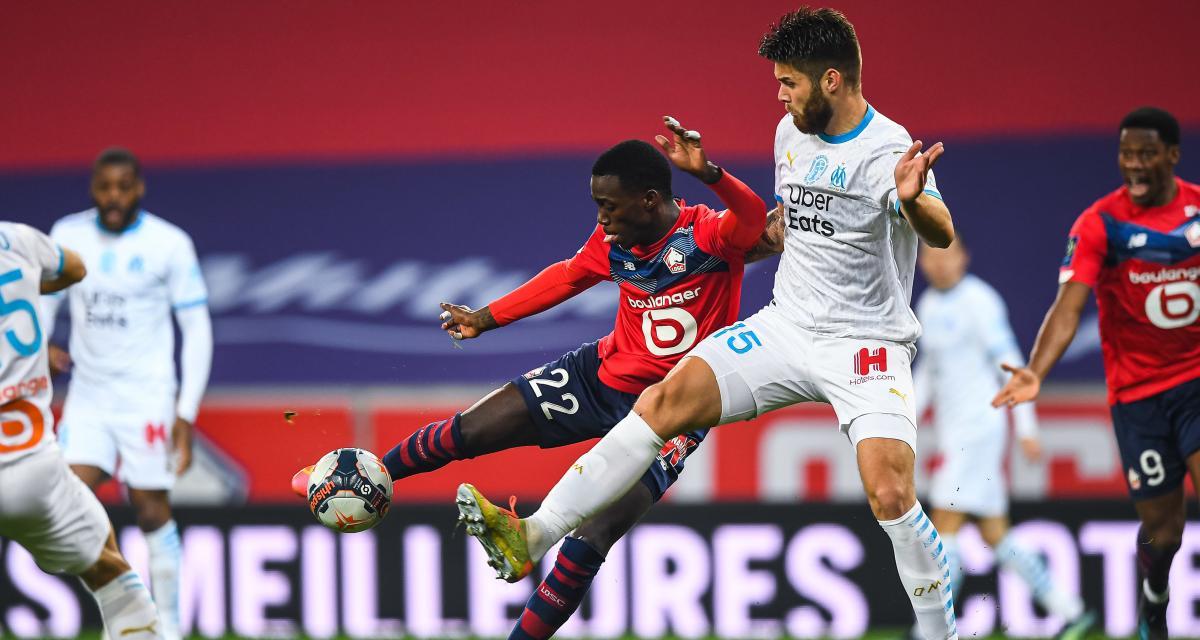Résultats Ligue 1 : l'OM tient tête au LOSC, le PSG mène, le FC Nantes accroché (mi-temps)