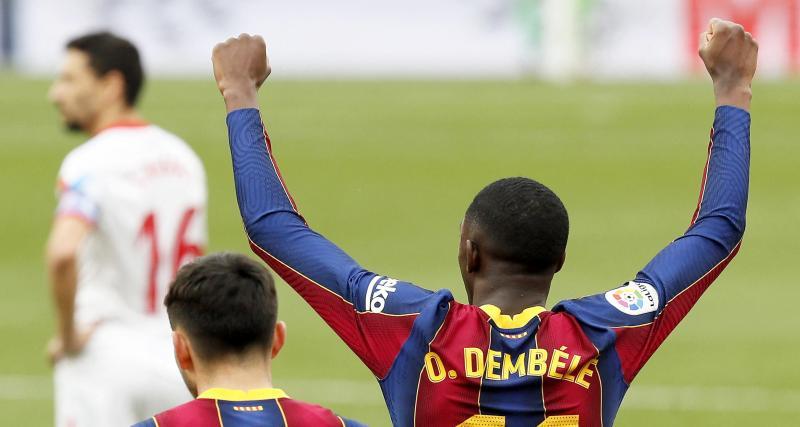 Résultat Coupe du Roi : FC Barcelone 1-0 FC Séville (mi-temps)