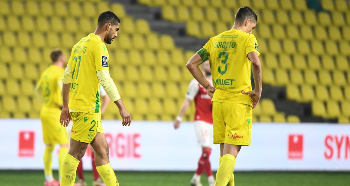 FC Nantes - Stade de Reims (1-2) : Girotto s'énerve devant un mal récurrent des Canaris