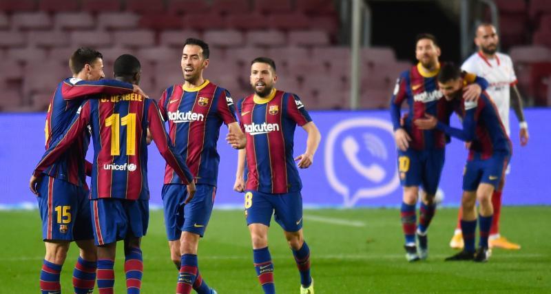 FC Barcelone - FC Séville (3-0) : le PSG est prévenu, ce Barça maîtrise les remontadas