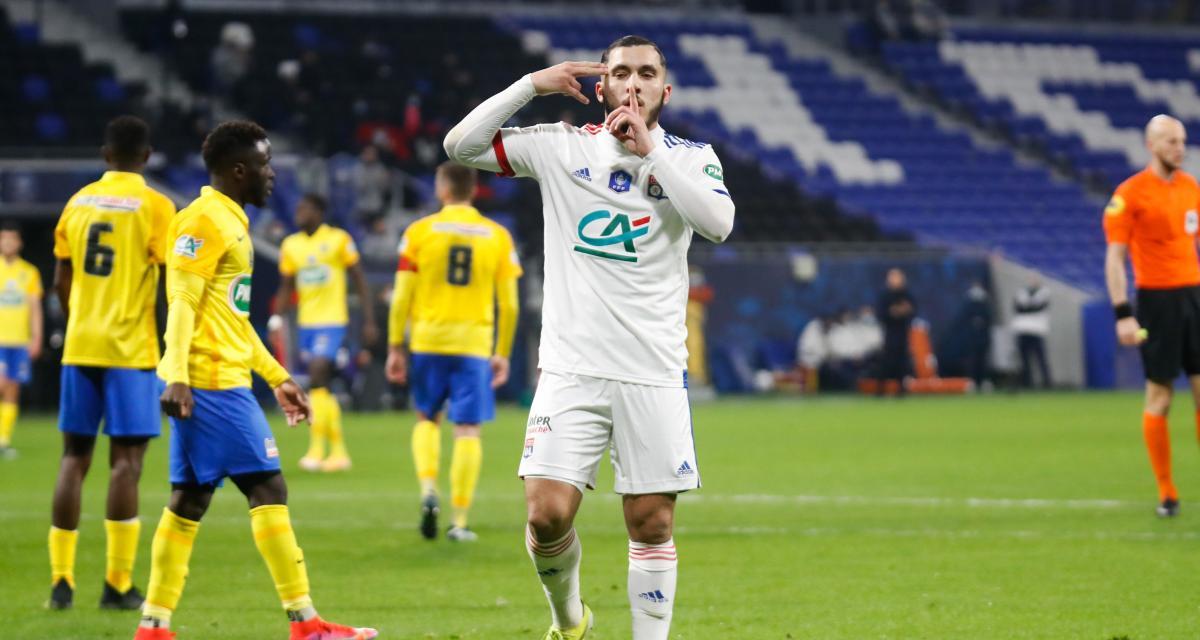 OL: Rayan Cherki s'offre un record et les félicitations de Garcia
