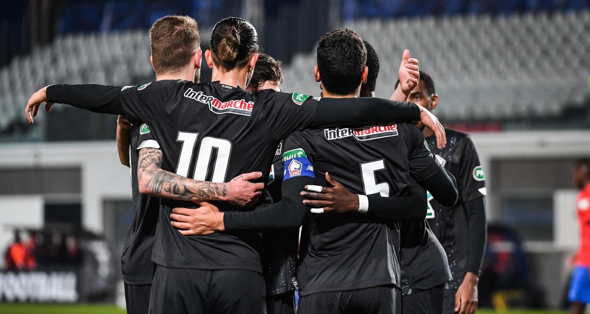 Coupe de France : Le LOSC fait le boulot face au Gazélec Ajaccio (0-1, mi-temps)