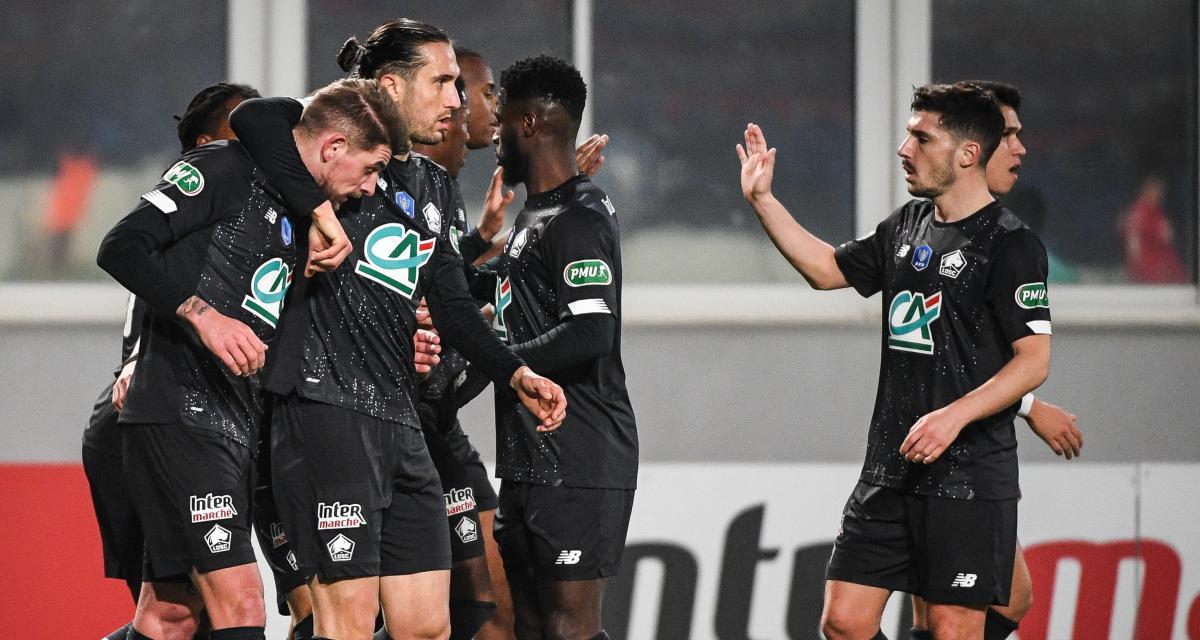 Gazélec Ajaccio - LOSC (1-3) : les TOPS et le FLOP des Dogues, qualifiés en 8es de Coupe de France