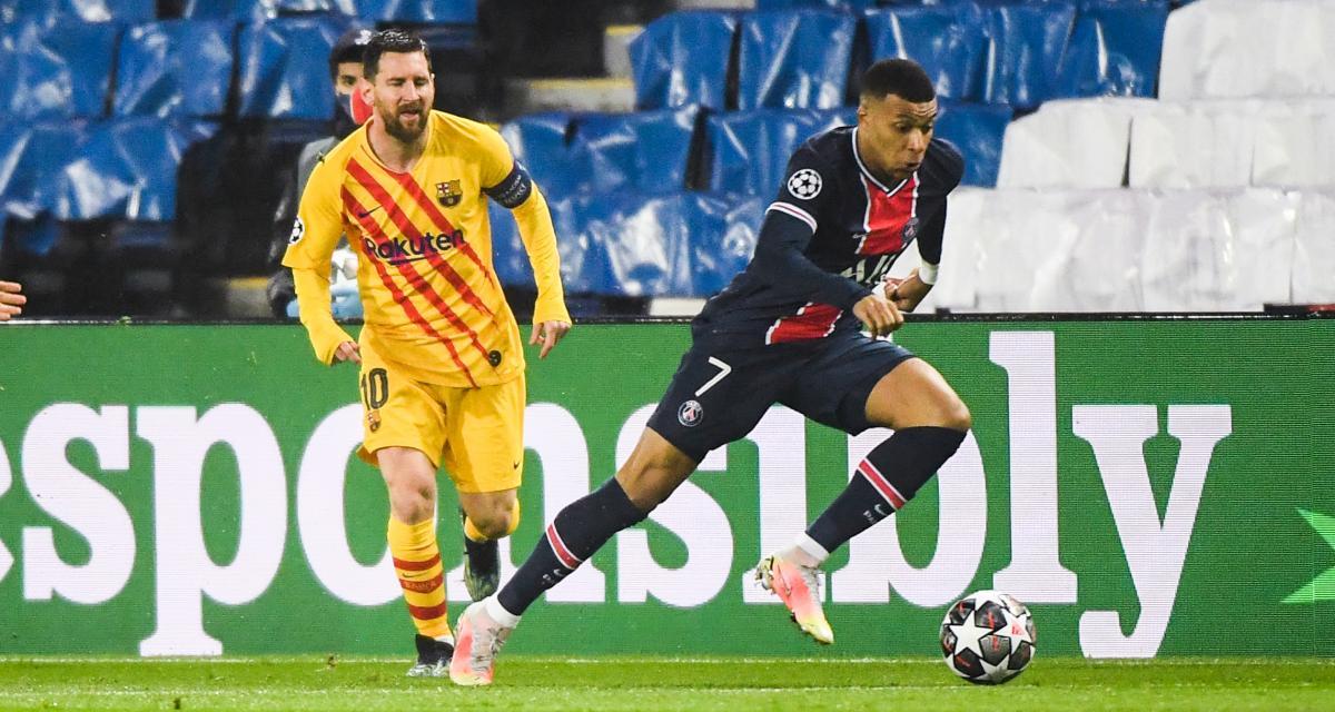 Résultat Ligue des Champions : PSG 1-1 FC Barcelone (mi-temps)