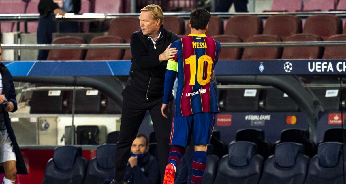 FC Barcelone, PSG - Mercato : un coup fourré de Koeman à Messi ?