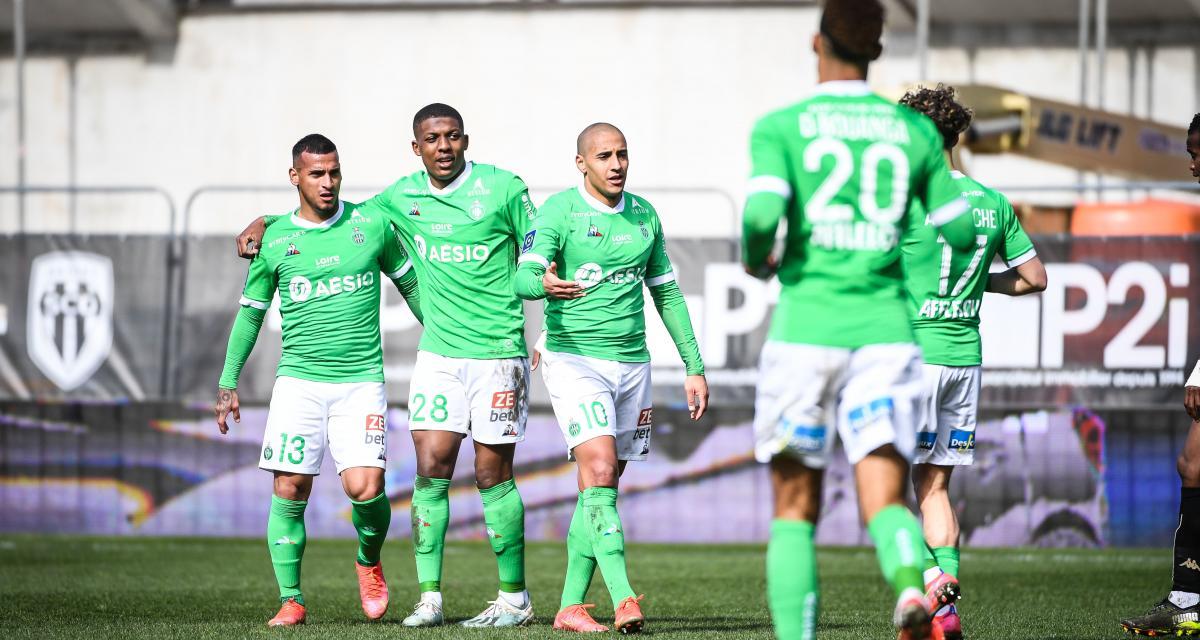 Résultat Ligue 1 : SCO d'Angers 0-1 ASSE (terminé)