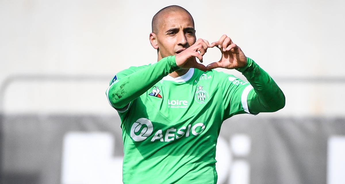 Angers SCO – ASSE (0-1) : la lumière est venue de Khazri... les notes des Verts, vainqueurs logiques d'une belle purge