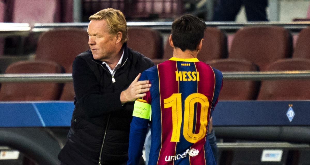 FC Barcelone - Mercato : Koeman envoie un signal clair à Messi
