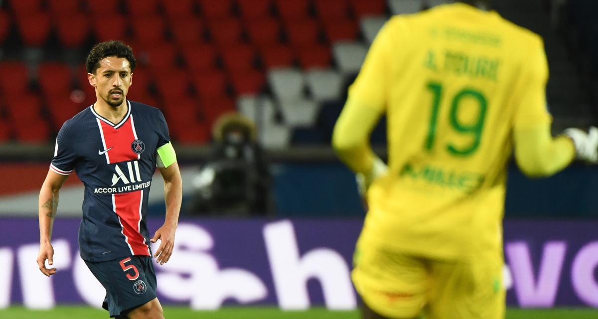 Résultat Ligue 1 : PSG 1 - 0 FC Nantes (mi-temps)