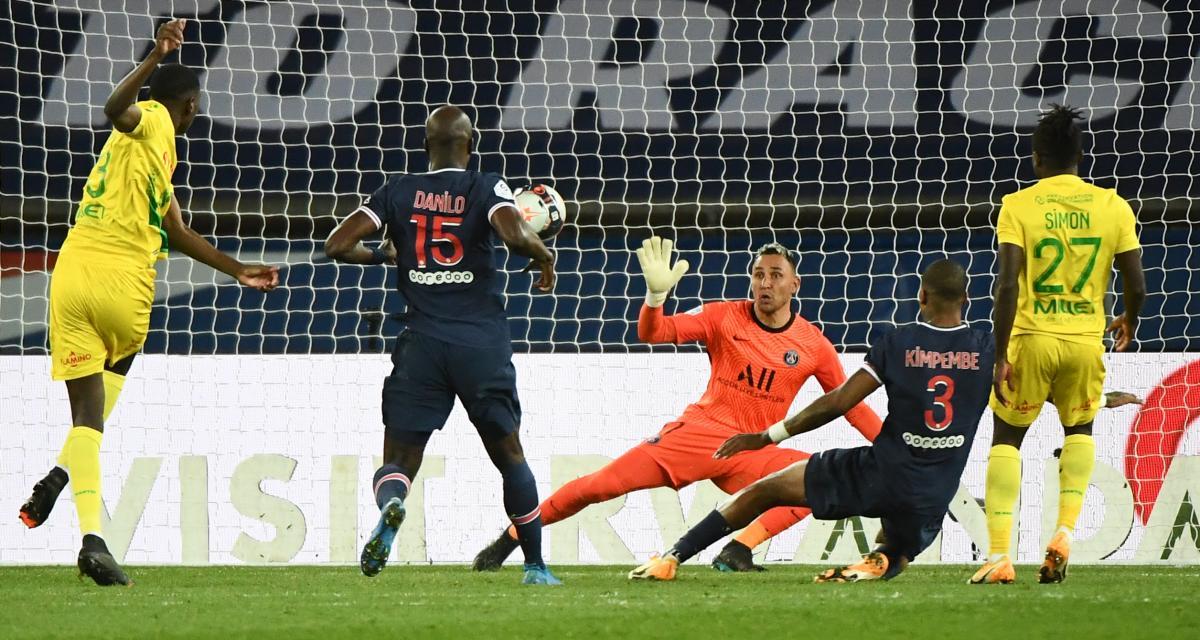 PSG - FC Nantes (1-2) : Kolo Muani, ses premiers mots après l'exploit des Canaris