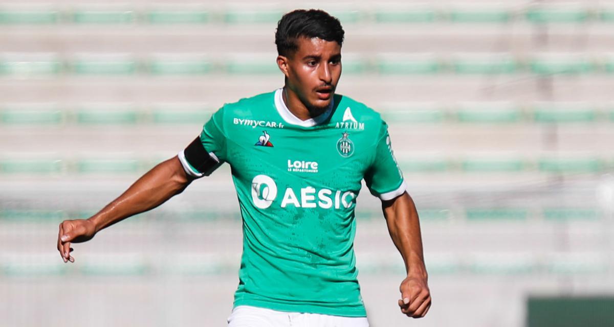 ASSE - Mercato : Moueffek voudrait partir cet été pour un club habitué à la C1
