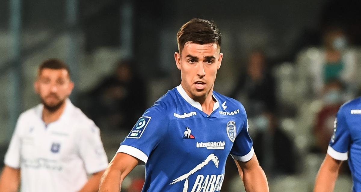 ASSE, ESTAC – Exclu BUT ! : sa saison avec Troyes, ses rapports avec Batlles, ses objectifs... l'ancien Vert Dylan Chambost s'est confié