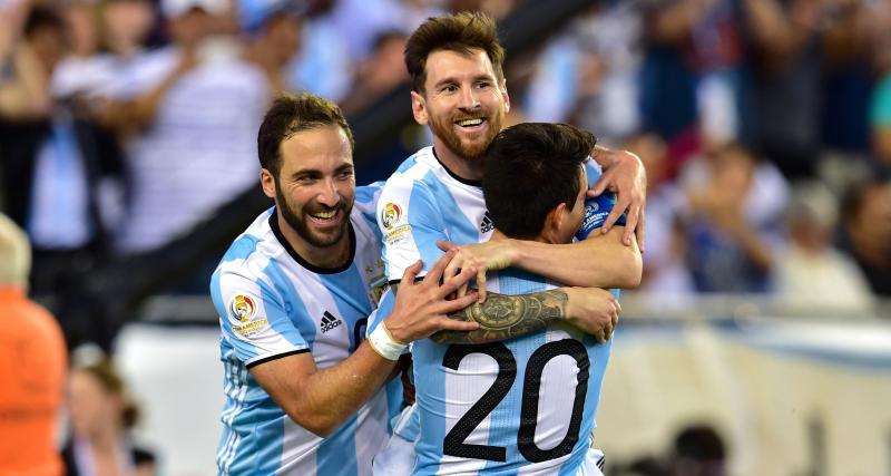 L'appel du pied de Higuain à Messi