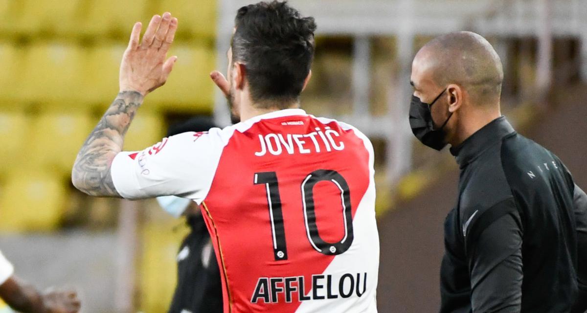 Résultat Ligue 1: ASSE 0-1 AS Monaco (mi-temps)