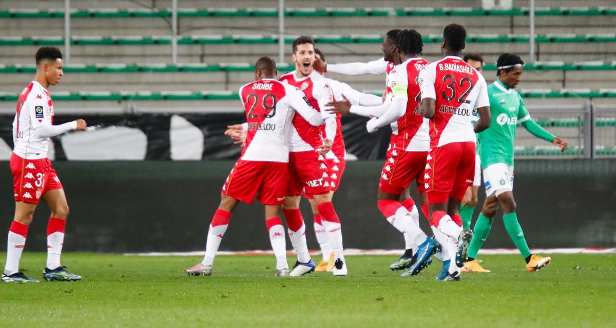 Résultat Ligue 1 : l'AS Monaco corrige l'ASSE (4-0) et se rapproche du podium !