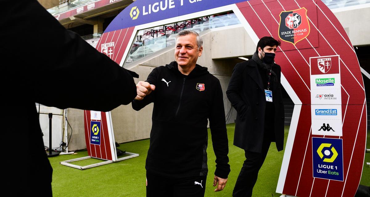 Stade Rennais: Doku, Europe... Les mots de Genesio après la victoire à Metz (3-1)