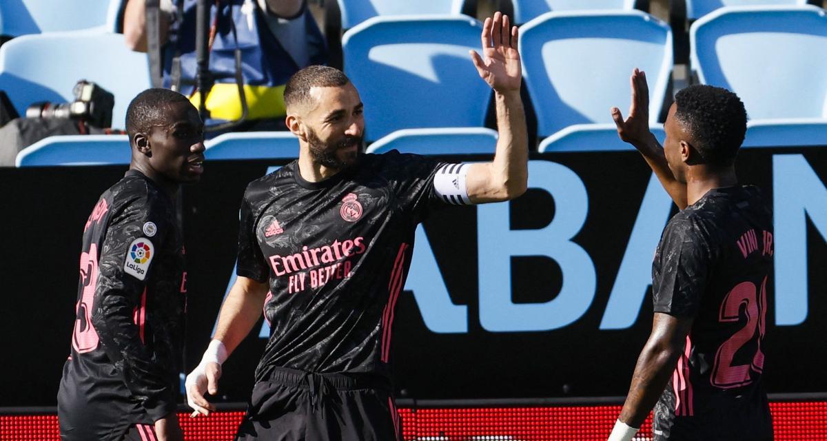 Real Madrid: Karim Benzema fait le show à Vigo et se rapproche de Messi!